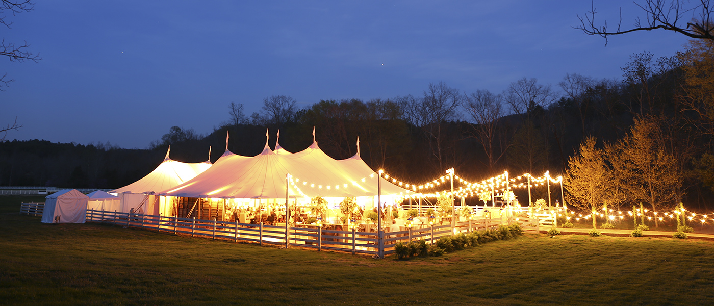 Skyline Tent Company SailCloth Tent