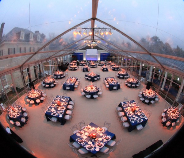 Clear Top Corporate Event Tent
