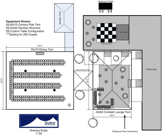 venue consulting layout