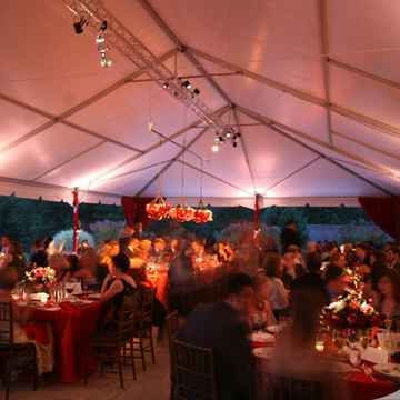 skyline tent company structure frame tent