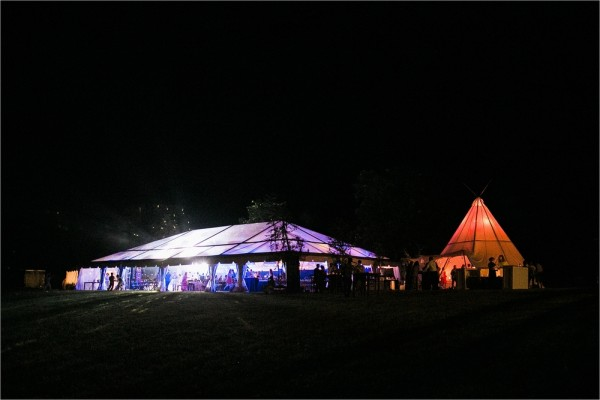 Virginia Summer Wedding Tent