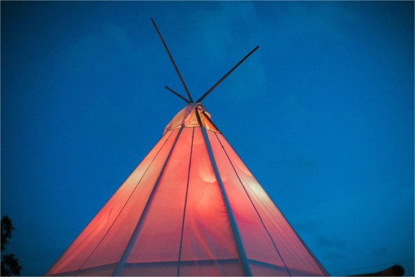 Virginia Teepee Wedding Tent Rental