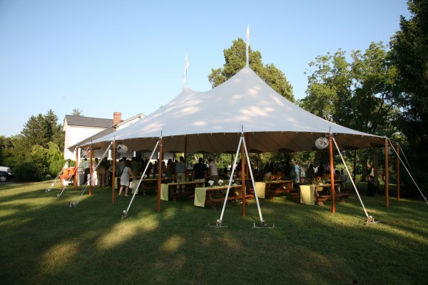 Wedding Tent Riverview Manor
