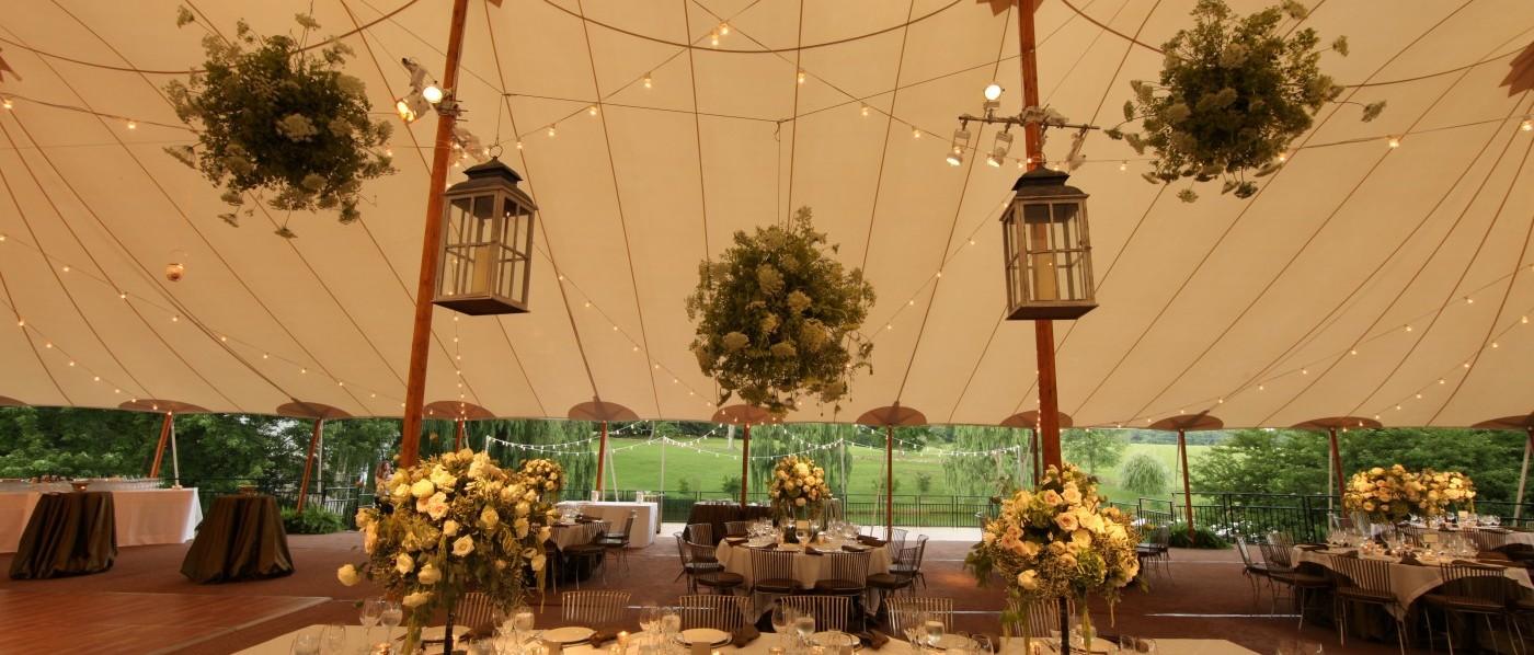 sperry sailcloth wedding tent