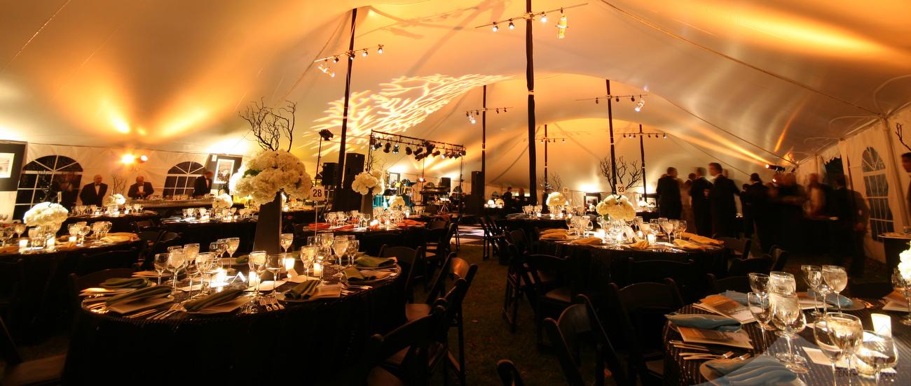 Interior of 60W Century Pole Tent